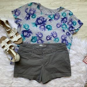 Old Navy-pixie| Gray casual shorts